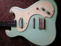 danelectro 63 reissue, surf green good condition asking