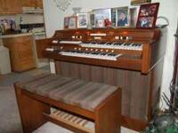 A beautiful piece of furniture, has a two octave