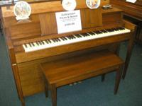 This piano is in excellent looks and condition. It is
