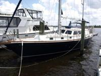 Lyric is a cruising ready sailboat that you can have
