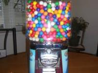 GUMBALL MACHINE, $20! IDEAL FOR A GIFT. CAN BE FILLED