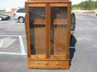 NICE GUN CABINET .CALL  Location: GREER