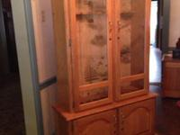 This cabinet is brand new never used it hold 10 guns