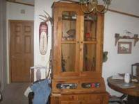 12 gun cabinet hand made from original American