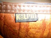 KOLPIN LEATHER GUN CASE / SIZE- 14? X 8? GREAT GIFT