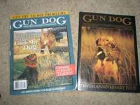 Several years worth of Gun Dog magazines. In perfect