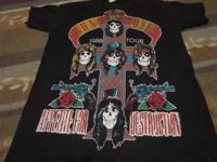 Guns n Roses Aerosmith Deep Purple 1988 Tour Giants