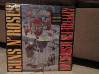 Guns n Roses Debut LP Appetite for Destruction . This