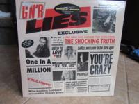 Guns n Roses Lies LP .This is a sealed original issue