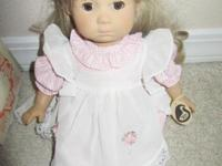 This doll is a rare Numbered and Signed Gustel Wiet
