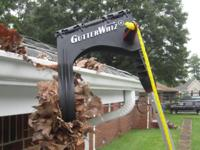 GUTTERWHIZ-- The Best DIY Rain Gutter Cleaner! >>> > No