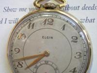 QUITE good antique watch by the Elgin National Watch