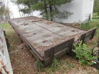 GVWR 24,500 Rogers tilt flat bed car equipment trailer