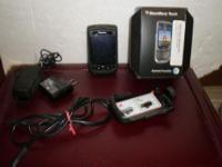 Blackberry Torch used with box, charger and all parts.