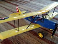 Have for sale a GWS RC Airplane with PT-17 scheme. New