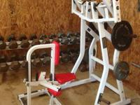 All for $2400 or split up as follows:  Dumbbell Set