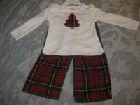 Adorable Gymboree girls Christmas pajamas size 18-24