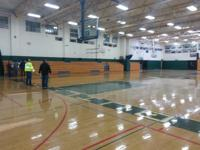 FOR SALE GYMNASIUM LIGHT FIXTURES IN ENTIRE ROOM (GYM),