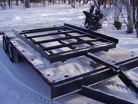 "New H.D. trailer frame 77"" wide X 100"" long. Phone"