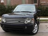 2003 RANGE ROVER HSE WITH LUXURY SEAT PKG IN PRISTINE