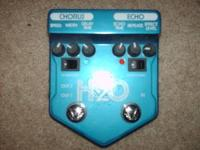 Visual Sound H20 Delay/Chorus pedal, in great