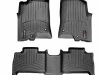 I have a set of weather tech floor mats, front and back