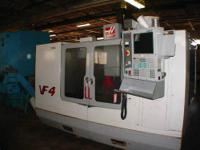 Haas VF-4 Vertical Machining Center 2001Machine