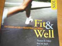 Textbooks are ONLY $5 each...... 1. FIT & WELL: 7th