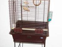 "Hagen Majestic ""Motel"" Cockatiel Cage - Antique Brass"