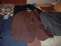 I have 6 or 7 Haggar suits for men!! They are in Great