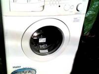 USED - White Haier Washer/Dryer is a combination