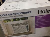 Haier 12,000 BTU Air Conditioner HWE12XCR (NEW)  -BRAND