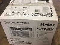 Haier 5,000 BTU Window Air Conditioner 115V HWF05XCR-L