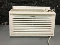 This is a Haier brand window ac. 6,000 BTU. Works well