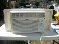 Haier Window Remote Air Conditioner, 8000 BTU Cooling