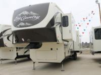 WE HAVE TWO BIG COUNTRY 3650RL WITH HAIL DAMAGE. PRICE