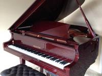 50 Hailun Grand Piano (Model 151) - Polished Mahogany -