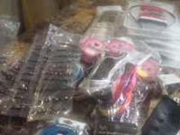 I have lot of hair accessories and earings $2 and $3
