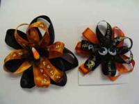 I am selling handmade hair bows. I have all types