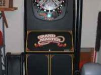 I had bought this Dart board stand/chest from an arcade
