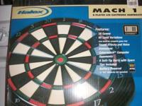 Halex Mach 1 8- player LCD Electronic Dartboard (NEW)