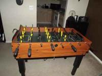 Great Game Table! Foosball Table Table Tennis - ping