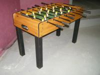 For your consideration is a HALEX Foosball table. This