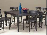 have a 5pc Roanoke counter height dining set at a