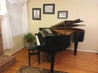 "This excellent condition baby grand (5'5"") has had one"