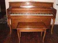 Hallet Amp Davis Upright Piano For Sale For Sale In