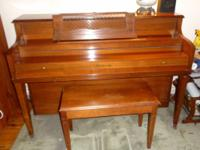 Brand: Hallet & Davis Upright Piano(bought new in the