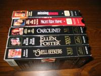 I have (5 )Hallmark Hall of Fame VHS films. These are