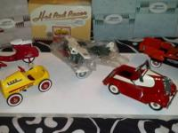 I have a collection of Hallmark Kiddie Car Classic
