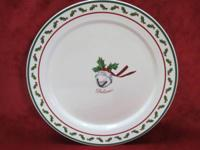 Wonderful Christmas Plate featuring the Polar Express